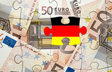 European financial crisis concept: Crisis in Germany