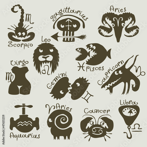 funny and scary signs of the zodiac