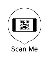 Scan Me Icon