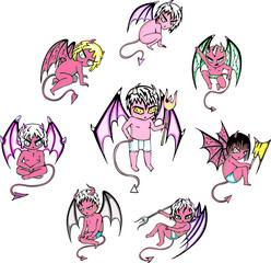 little devil cartoons
