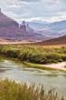 Vallée du Colorado près de Moab, Utah USA