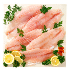 Filetto di pesce persico - Fillet of perch