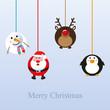 Weihnachtliche Anhänger