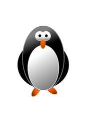 Pingouin étonnement