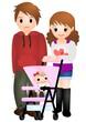 赤ちゃんとパパとママ ギャル