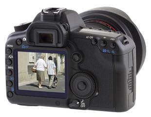 Aide aux personnes âgées, appareil photo