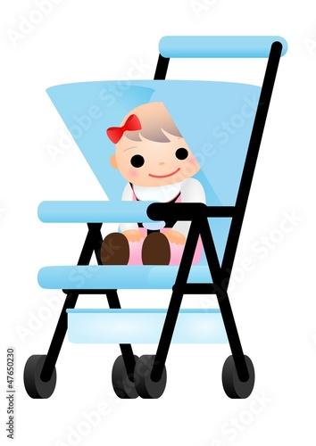 赤ちゃん ベビーカー 女の子