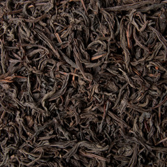 Black tea loose dried tea leaves