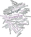 Word cloud for Angel investor poster