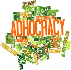 Word cloud for Adhocracy