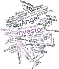 Word cloud for Angel investor