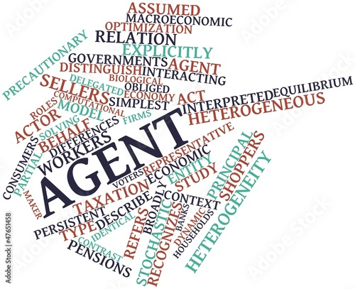 Word cloud for Agent