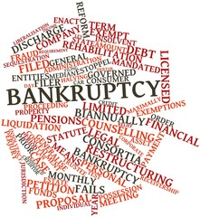 Word cloud for Bankruptcy