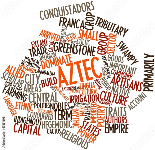 Word cloud for Aztec