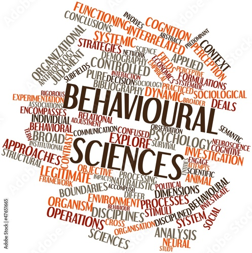 Word cloud for Behavioural sciences