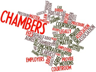 Word cloud for Chambers