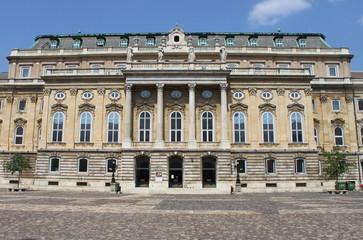 Facade of Budapest Royal Palace