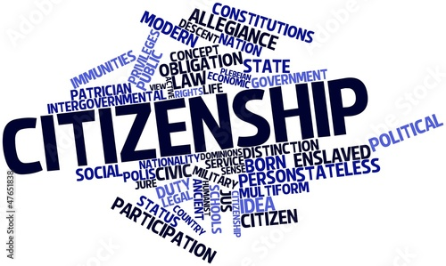 Word cloud for Citizenship