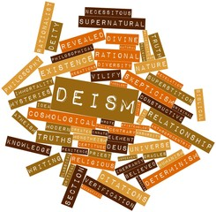 Word cloud for Deism