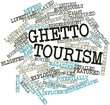 Word cloud for Ghetto tourism
