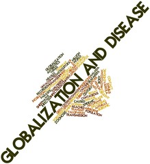 Word cloud for Globalization and disease