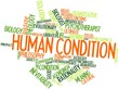Word cloud for Human condition