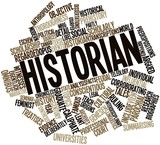 Word cloud for Historian