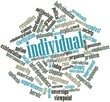 Word cloud for Individual
