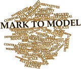 Word cloud for Mark to model