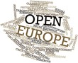 Word cloud for Open Europe