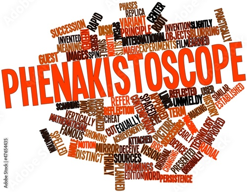 Word cloud for Phenakistoscope