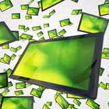 Tablet-PC Schwarm - Schwarz Grün