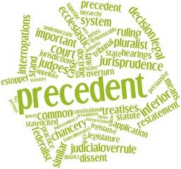 Word cloud for Precedent