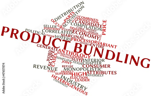 Word cloud for Product bundling