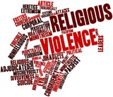 Word cloud for Religious violence