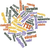 Word cloud for RSS