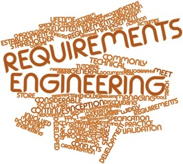 Word cloud for Requirements engineering