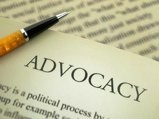 Advocacy terms