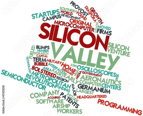 Word cloud for Silicon Valley