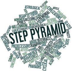Word cloud for Step pyramid