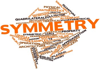 Word cloud for Symmetry