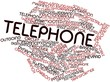Word cloud for Telephone