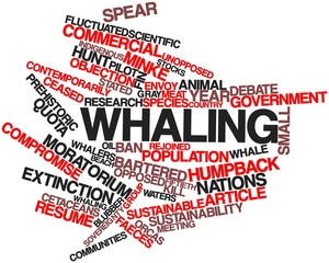 Word cloud for Whaling