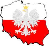 Fototapety symbole Polski