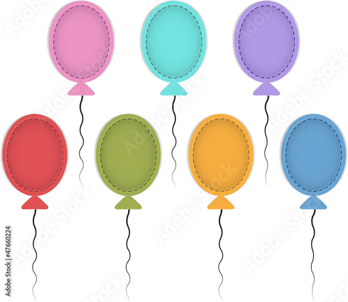 Colorful ballons