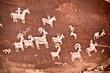 Pétroglyphe - Arches National Park, Utah - USA