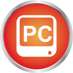 icon pc red circle