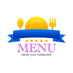 kitchen menu sign logo