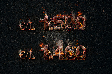 Flambée des prix de l'essence