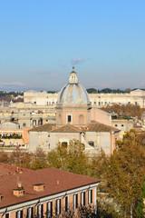 Chiesa di San Giovanni dei Fiorentini vista dal Gianicolo